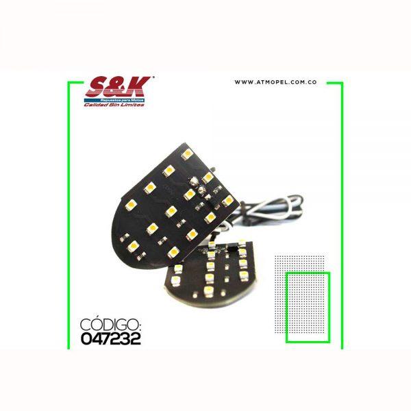 DIRECCIONAL TRASERA LED (SET X 2)