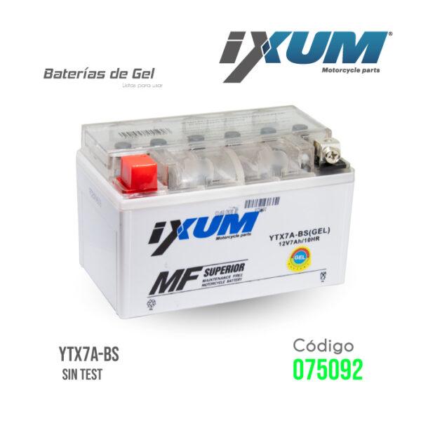 BATERIA IXUM – YTX7A-BS