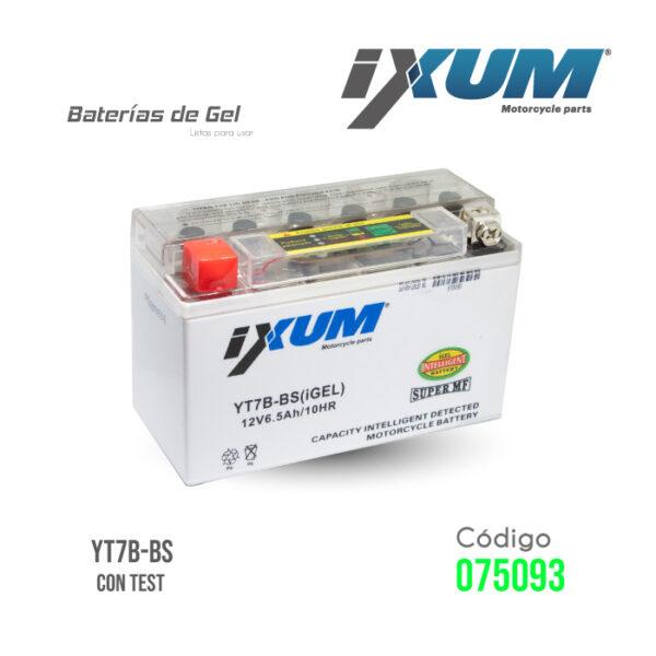 BATERIA IXUM – YT7B-BS