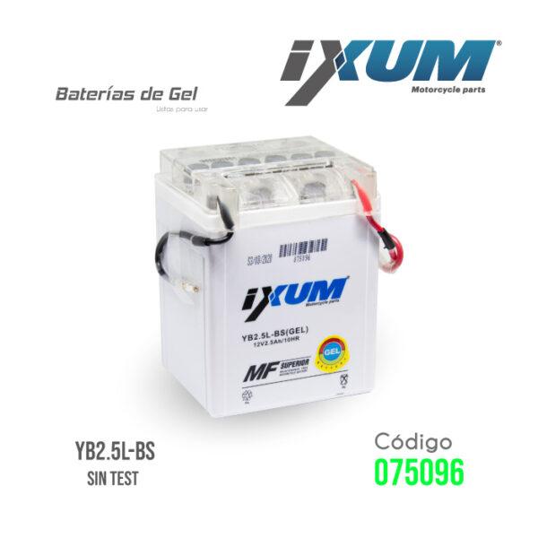 BATERIA IXUM YB2.5L-BS
