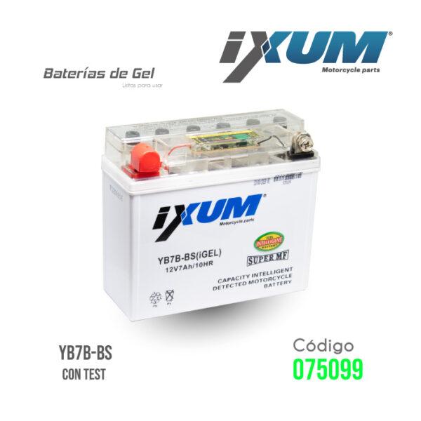 BATERIA IXUM – YB7B-BS